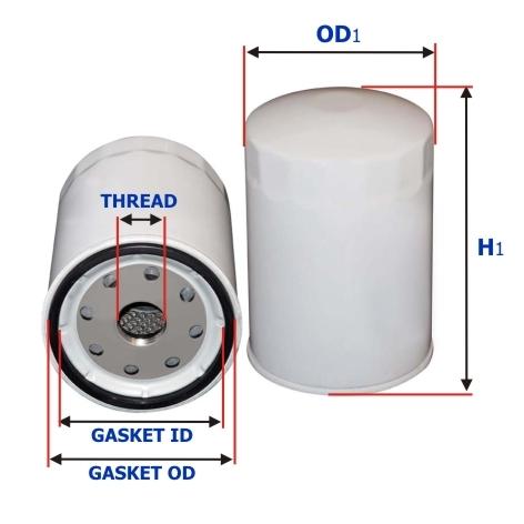 масло фильтр сакура