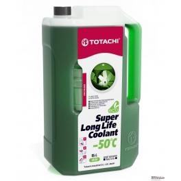 Жидкость охлаждающая низкозамерзающая TOTACHI SUPER LONG LIFE COOLANT Green -50C 5л
